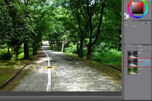 CLIP STUDIO PAINTでHDR化5 ソフトライト